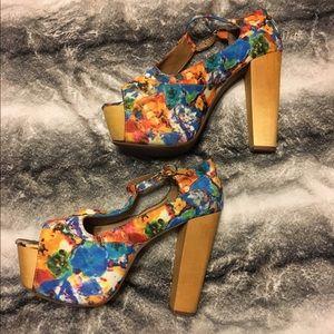 Jeffrey Campbell Shoes - Jeffrey Campbell Platform Corked Heels