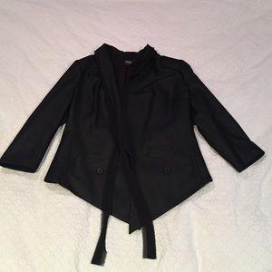 EDUN Jackets & Blazers - EDUN Tuxedo Blazer with silk trim