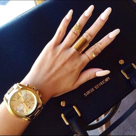 a4c1fb6e4960 Michael Kors Oversized Gold Bradshaw Watch 5605. M 588586195c12f81c3203b7cb