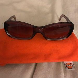SPY Accessories - SPY burgundy sunglasses