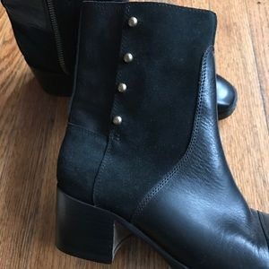 Billy Reid Shoes - Billy Reid Handmade 'Wheeler' Black Ankle Boots 7