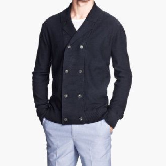 c86f091cf05ca8 H&M Sweaters | Hm Mens Double Breasted Cardigan | Poshmark
