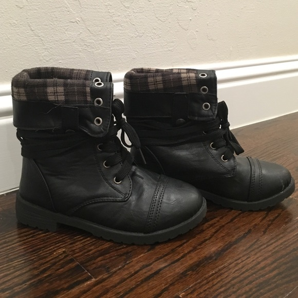 girls size 13 black boots