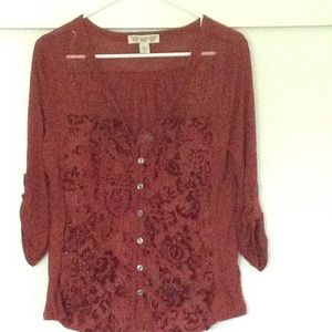 American Vintage Tops - Women's American Vintage Button Up Shirt, Blouse