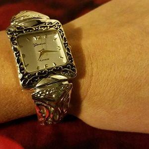 Geneva Platinum Jewelry - Geneva Watch