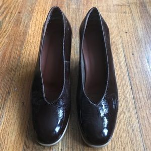 Rachel Comey Shoes - New Rachel Comey Patent Leather Burgundy Heels 6