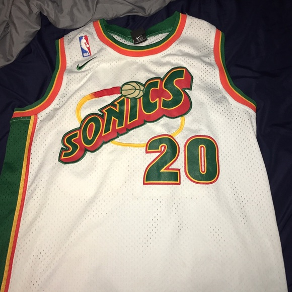 designer fashion d6b63 7d469 Authentic Gary Payton Seattle Supersonics jersey