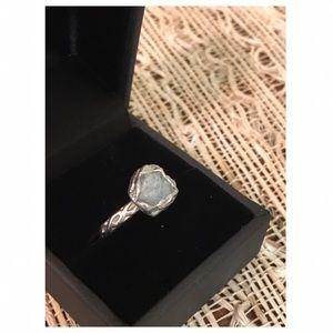 Jewelry - Handmade by San Diego artist💫 Aqua marine ring