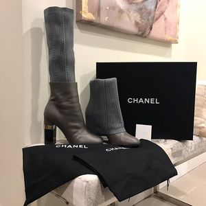 Authentic Chanel boots!