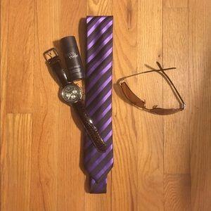 ALFANI Other - Mens ALFANI Skinny Tie ⭐️NWOT⭐️