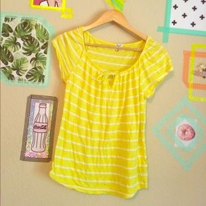  yellow striped top by splendid