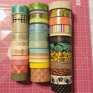 Washi Tape Lot
