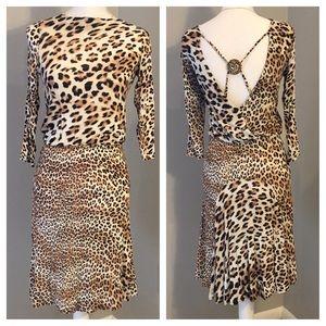 Class Roberto Cavalli Dresses & Skirts - Authentic Roberto Cavalli chic leopard dress