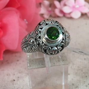 Jewelry - 💞Russian Diopside Sterling Silver Ring💞