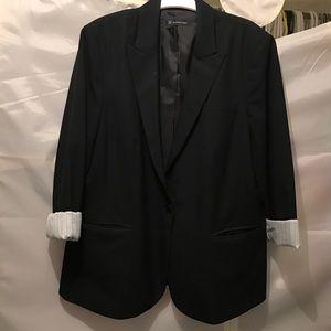 Black blazer size 14 INC EUC
