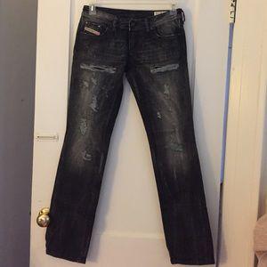 Diesel Black Gold Denim - NWT Diesel Industry Jeans