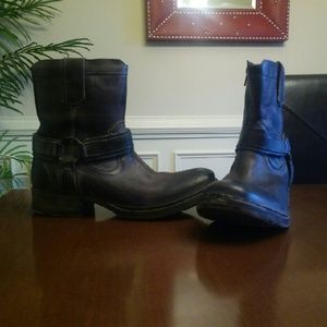 Bed Stu Other - Bed Stu Coville Leather Moto Boot