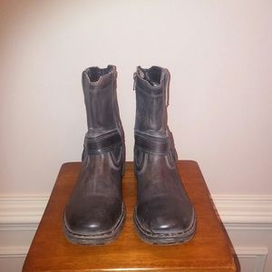 Bed Stu Other - Bed Stu Coville Leather Moto Boots