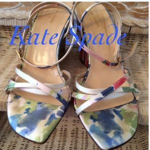 Kate Spade Shoes - ♣️Floral Wedges♣️