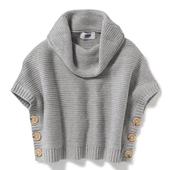 Old Navy Kids Baby Girls Poncho size 12-18 months