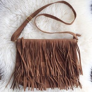 Old Navy faux suede crossbody bag