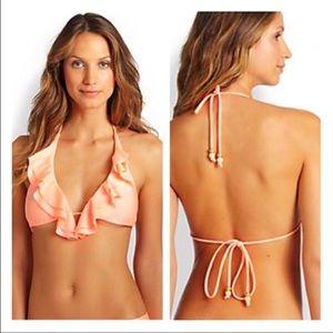 Shoshanna Other - NWT Shoshanna ruffle bikini top cup size C/D