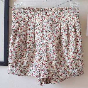 Forever 21 Pants - Floral Print Shorts