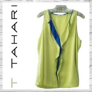 T Tahari Tops - T Tahari Two Tone Blouse Sz XL