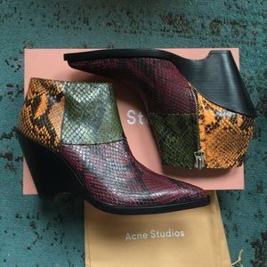 Acne Shoes - New In Box Acne Cinzia Boot size 40