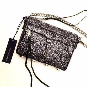 Rebecca Minkoff Handbags - $100 NEW Rebecca Minkoff Glitter Micro MAC