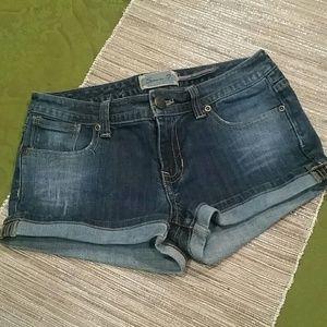 Seven7 Pants - Seven7 cuffed shorts