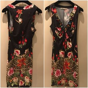 Class Roberto Cavalli Dresses & Skirts - Roberto Cavalli Jersey Leopard Dress