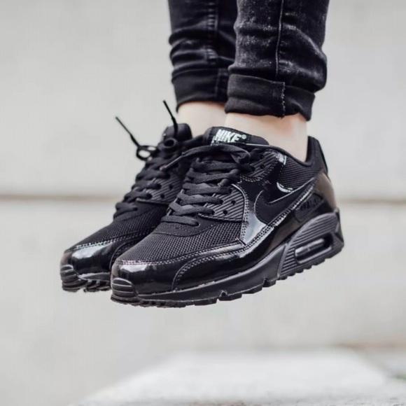 hot sale online 7681e 0aa6e Women s NIKE Air Max 90 Premium Running Shoes