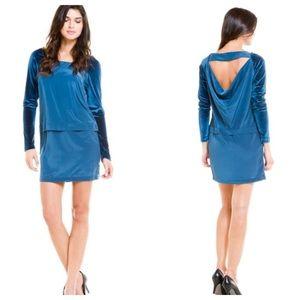 BCBG Dresses & Skirts - BGBG Velvet Shift Dress