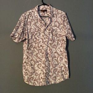 Ben Sherman Other - 🎉HP Ben Sherman Paisley shirt size L 100% Cotton
