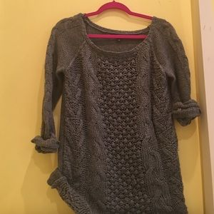 Fever London Sweaters - FEVER size small grey knit sweater