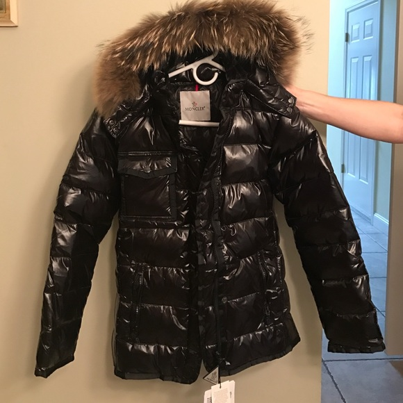 9e3442645 Moncler Down Jacket Armoise Black Women's NWT