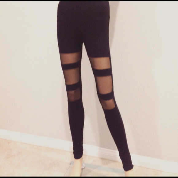 a16bdc205cee2 Pants | Clearance Last One Mesh Cut Out Legging | Poshmark