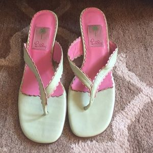 Lilly Pulitzer Vintage Sandals
