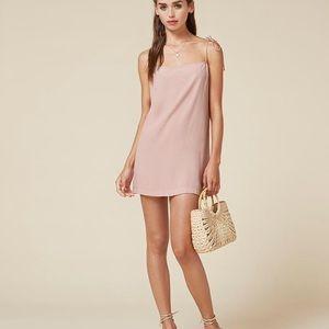 NWT Reformation Feliz Slip Dress Rose SZ 4