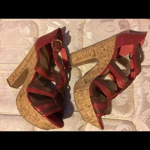 Size 8.5 wedge High Heel BCBG Generation