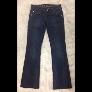 Rock Revival Denim - Rock Revival Patti Bootcut Distressed Jeans