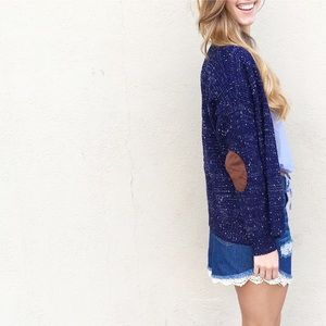 Sweaters - RESTOCKED elbow patch cardigan