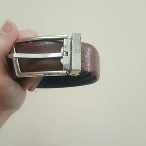 Valentino Other - AUTHENTIC VALENTINO REVERSABLE BELT leather