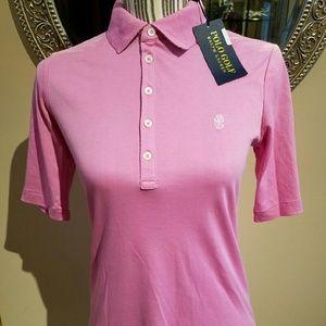 Ralph Lauren 100% Cotton Pink Golf Polo