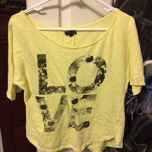 Fifth Sun Tops - Fifth Sun LOVE Crop Top