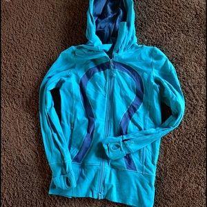 Lulu Lemon zip up hoodie