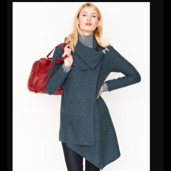 66% off Garnet Hill Jackets & Blazers - Garnet Hill Asymmetrical ...