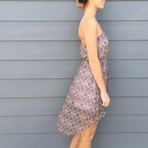 Dresses & Skirts - tribal print high low dress