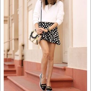Brand new polka dot skirt